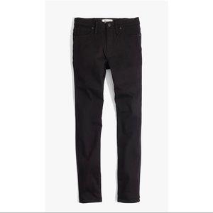 Madewell Black Skinny Jeans